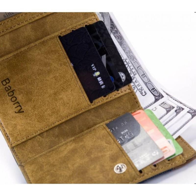 Мужской кошелек с Baborry FB01