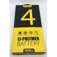Аккумулятор GOLF Apple iPhone 4 1420mAh