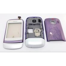 Корпус Nokia C2-06 Бело-Фиолетовый