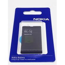 Аккумулятор Nokia 5230 BL-5J 1320mAh