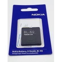 Аккумулятор Nokia 6700 BL-6Q 970mAh