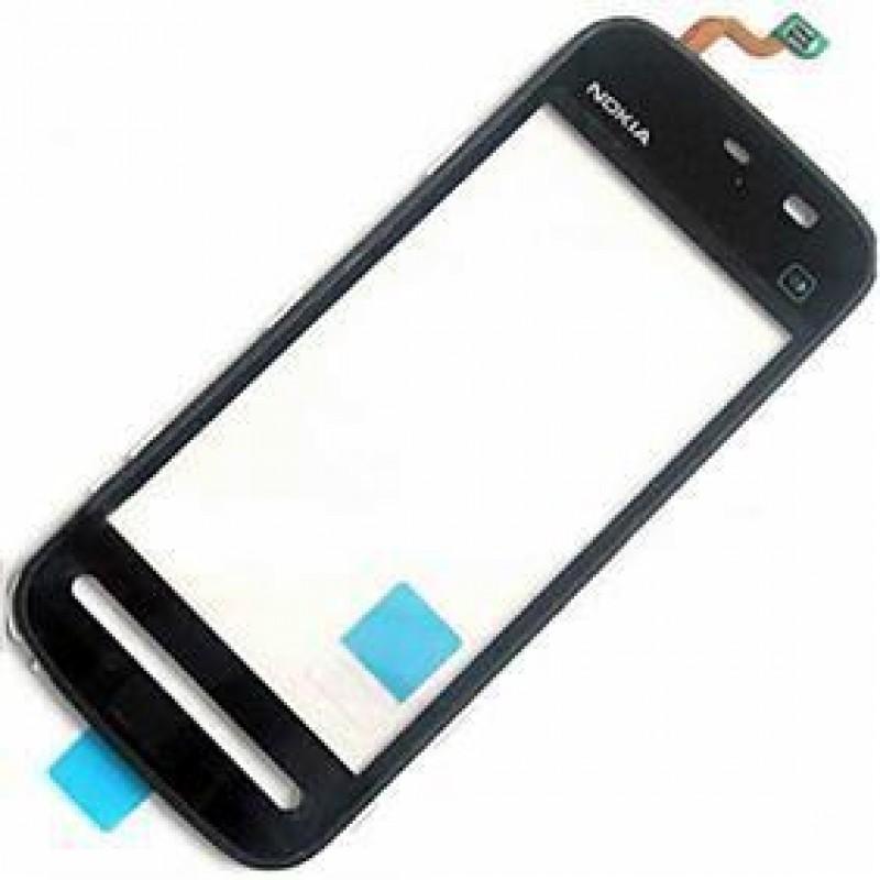 Тачскрин (сенсор) Nokia 5230 Черный