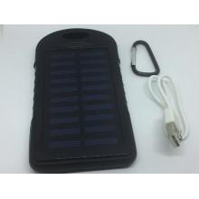 Power Bank Solar, Солнечная Батарея, 2 USB 6000mAh
